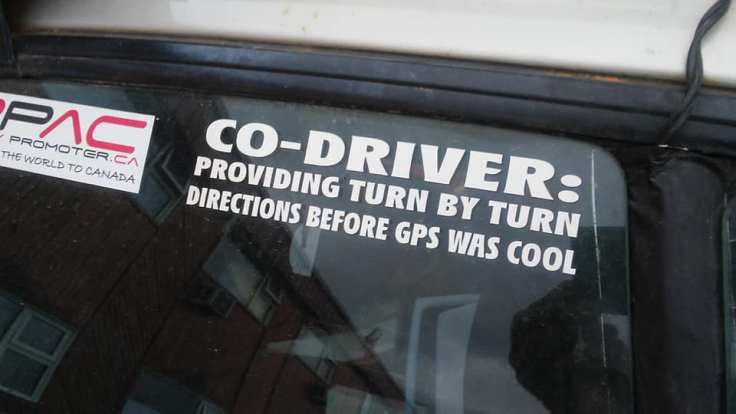 co-driver