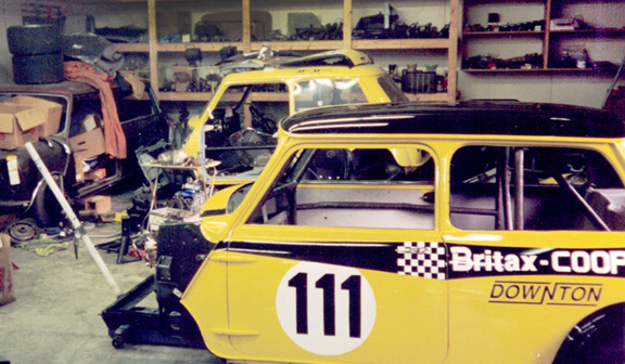 My Woody, GT car, and Vintage racecar